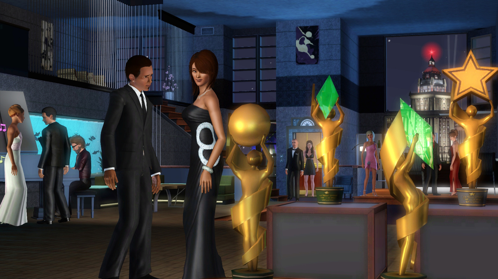 Sims 3 Late Night Lots Downloads.