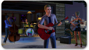 The Sims 3 Making the Band
